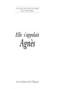 Couverture Agnès